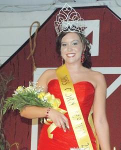 2011 Corn Festival Queen Allie Smith