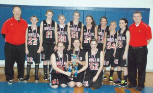 Lady Pirates win freshman title