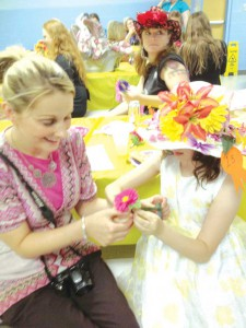Bowen Elementary's Mother/Daughter Tea Party and Derby Hat Contest