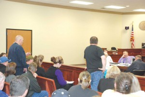 Fiscal court meeting heated; ambulance director back at work
