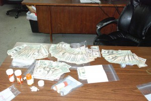 Tip leads to drug bust in Clay City Bottoms area