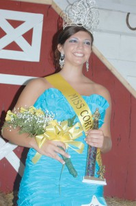 Rogers crowned as 2012 Miss  Corn Festival