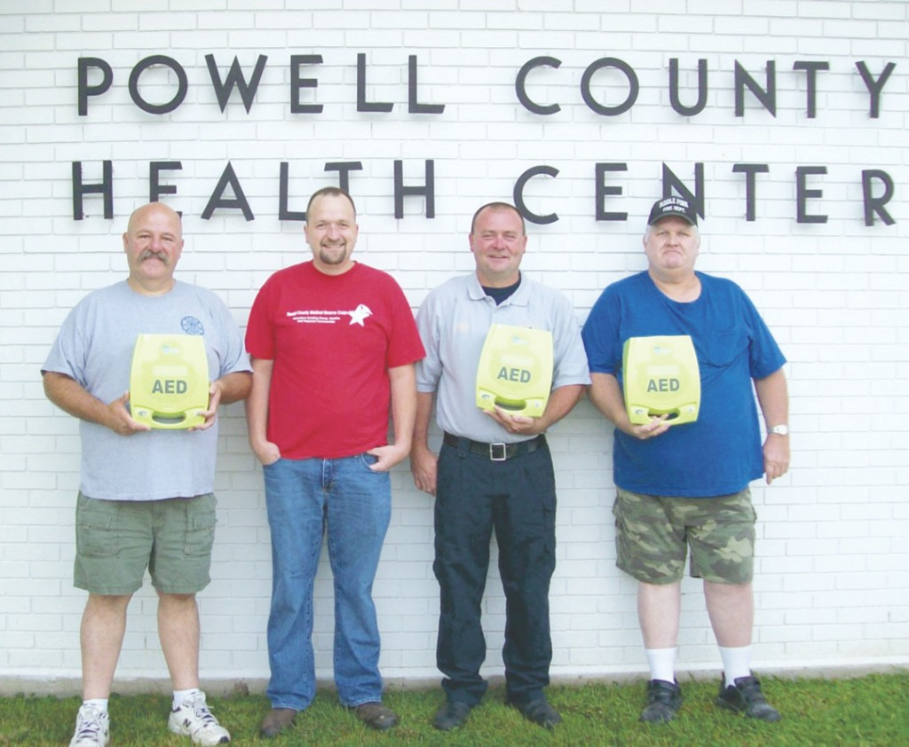 Fire departments get AED