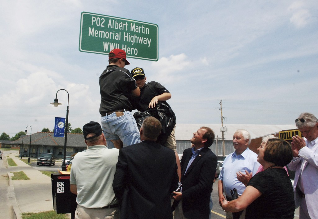 Albert Martin Memorial Highway is dedicated