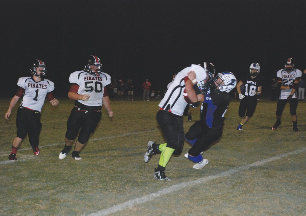 Pirates crushed by Estill