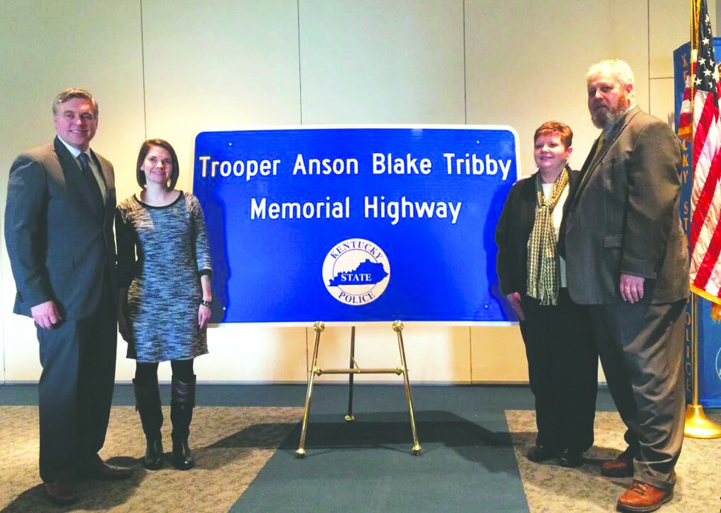 Trooper Honored color