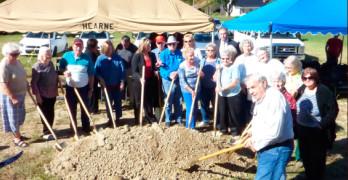 Groundbreaking ceremony held for new Senior Citizen Center to be built in Stanton