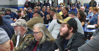 Residents voice concerns about Proposed  Construction and Demolition Debris Landfill