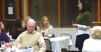 Candidate for Lt. Governor  Stephanie Horne visits Powell County
