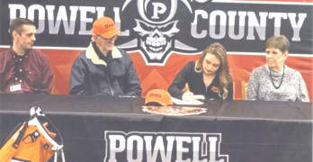 PCHS Golfer Jada Crowe  signs to play for Pikeville