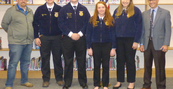 Seven FFA members up for State Degree